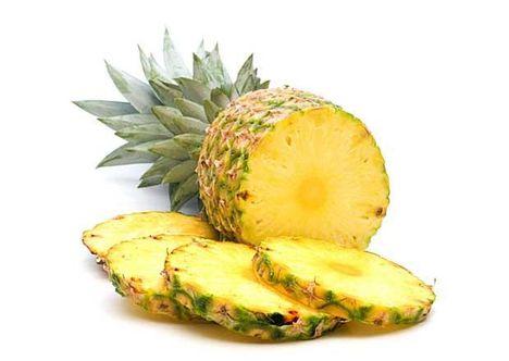 Ananász mint méregtelenítő.