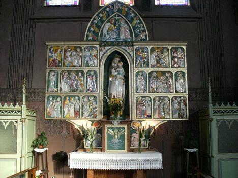 Szűz Mária oltár
