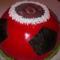 Foci torta(tejszínes csoki)