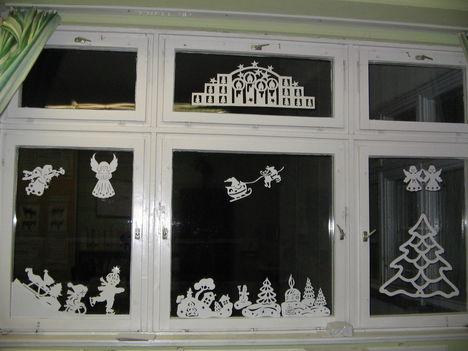 Karácsonyi ablak