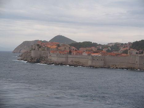 Dubrovnik a tenger felől