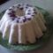 Gyümölcsös túró torta hidegen elkészítve
