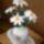 horgolt virágaim,vázáim