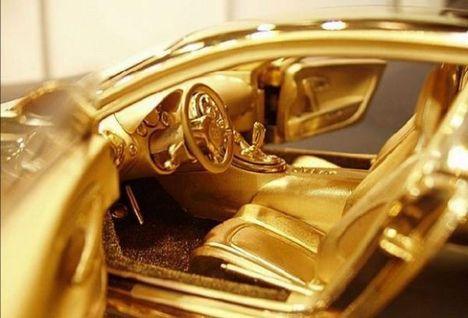 bugatti aranyból