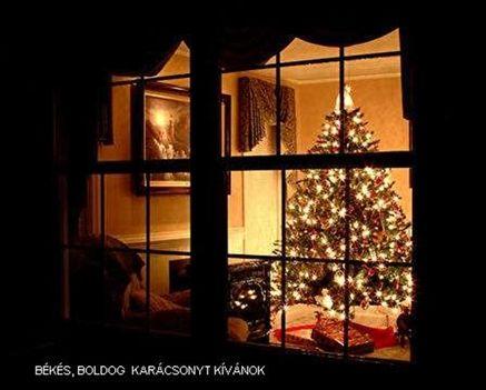 Karácsony , üdvözleteinkkel