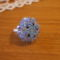 Kék swaris gyűrűcske