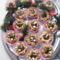Mogyoró krémes mandulás virágok