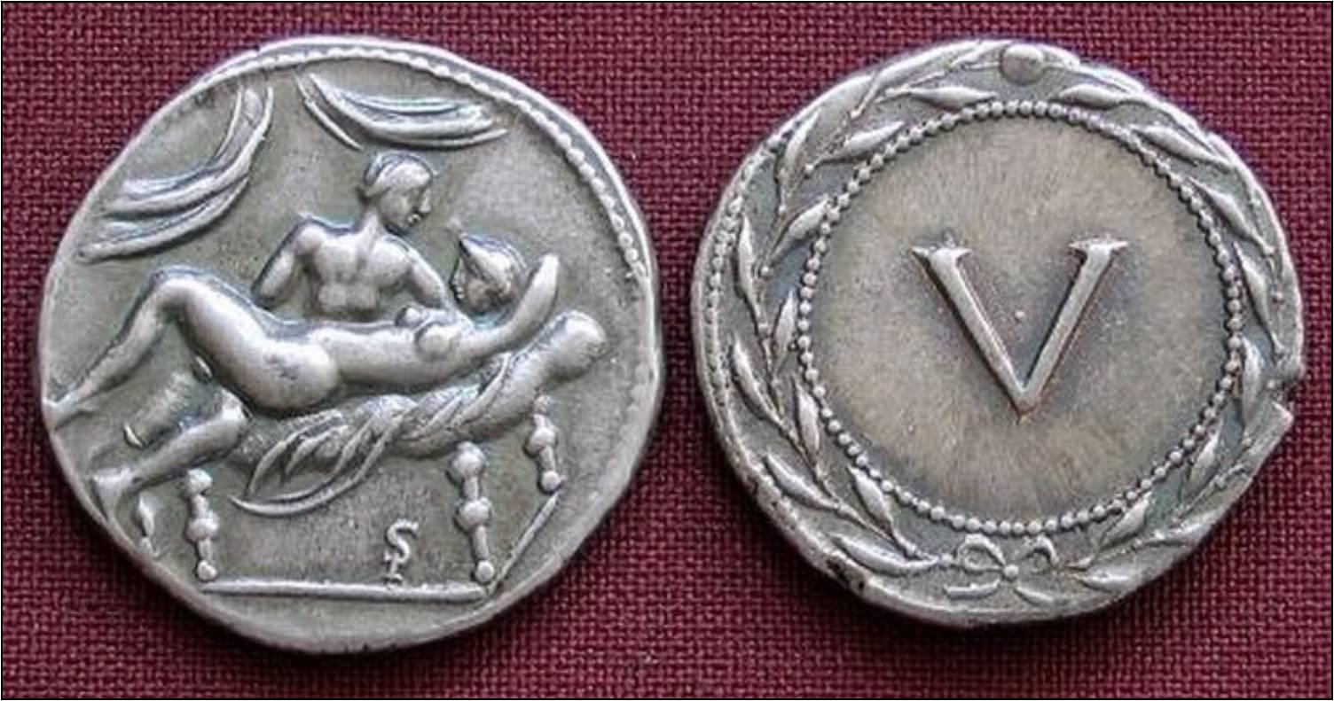 Эротика в монетах 4 фотография