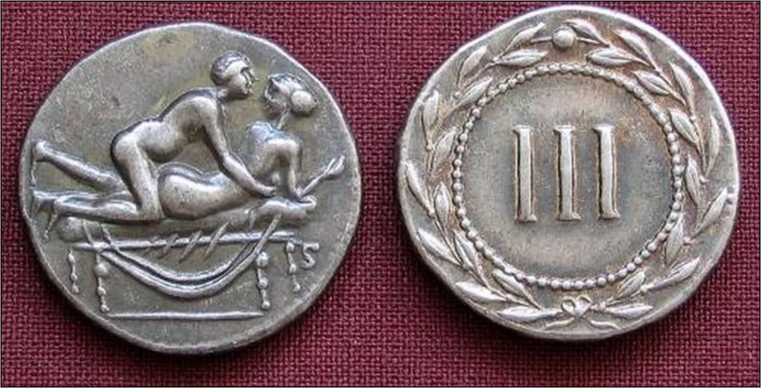 Эротика в монетах 10 фотография