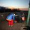 Hegyestetői sátrazás a kilátón