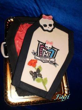 Monster High torta