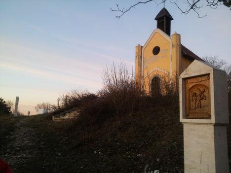 2008-ban épitett kápolna