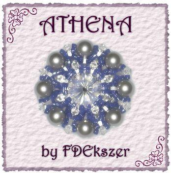 Athena kékben