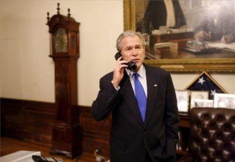 Bush gratulál
