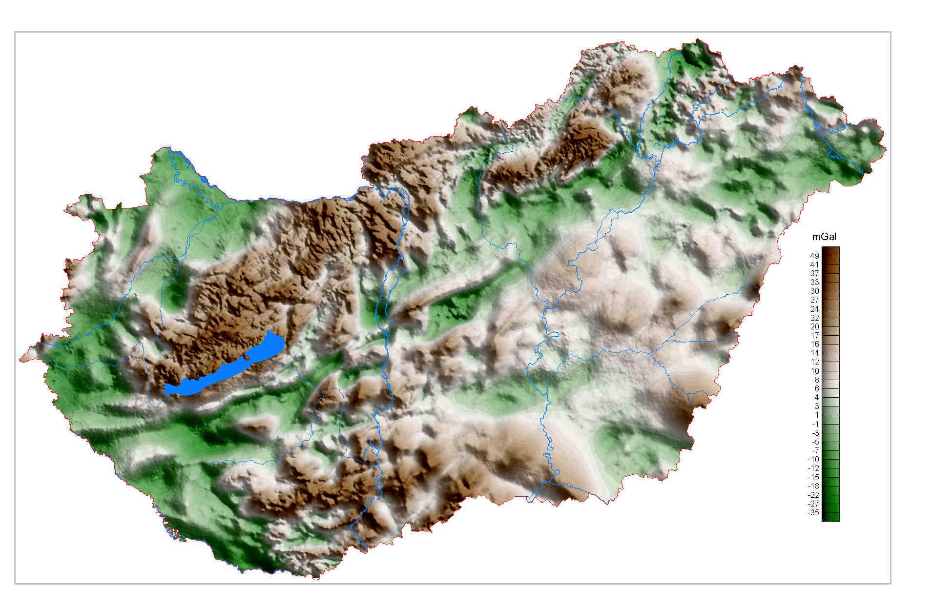 bakony domborzati térkép Magyarországon élünk: Domborzati térkép (kép) bakony domborzati térkép