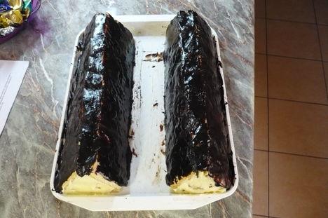 Házikó süti így készült