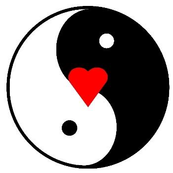 jin-jang, szeretet, harmónia