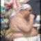 Kövér ember a strandon