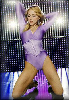 Madonna a táncparketten