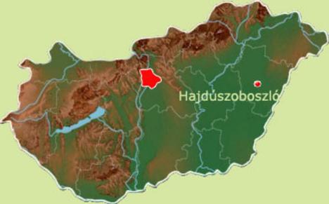hajdúszoboszló térkép Hajdúszoboszló: térképen (kép) hajdúszoboszló térkép