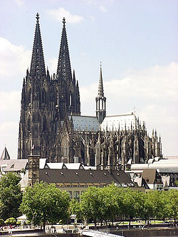 250px-Cologne_Cathedral Köln.