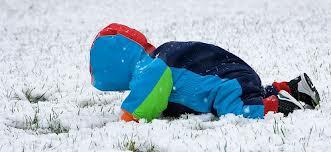 Baba a hóban