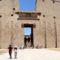 Edfu, a Hórusz templom bejárata