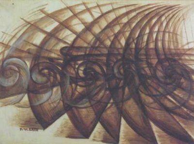Giacomo Balla olasz festő műve