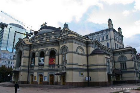 A Nemzeti Operaház épülete