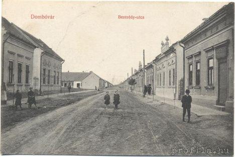 Bezerédj utca régen