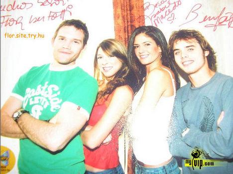 Fede és Flor és Franco és Delfina