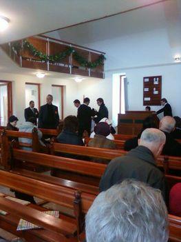 Nagykovácsi református templom avató 2012. december 3