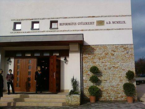 Nagykovácsi református templom avató 2012. december 4