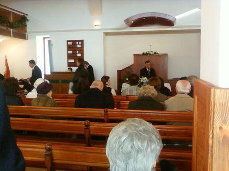 Nagykovácsi református templom avató 2012. december 6