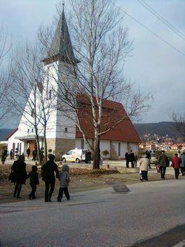 Nagykovácsi református templom avató 2012. december 7