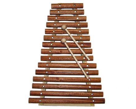 2 oktávos xilofon