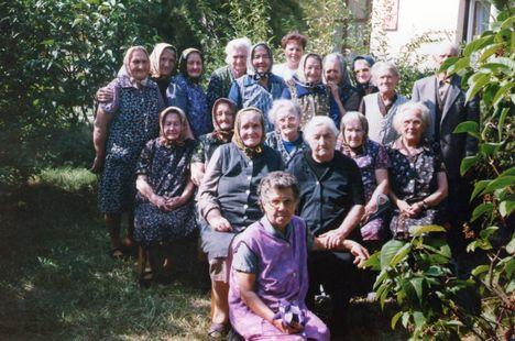 Az Öregek Otthona lakói 1974.