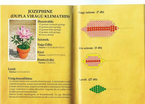 cserepes virág minták 5