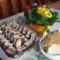 méteres,,,mézes süti,,,sajtos tallér,,,,és csokis pöfeteg