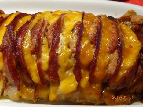 Karajka töltve sonka sajt