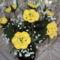 Horgolt virág szülinapra