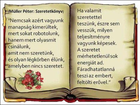 Müller Péter Szeretetkönyv