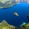 Bledi tó, madártávlatból