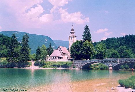 Bohinji tó- Szlovénia