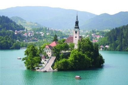 Szlovénia- Bledi tó