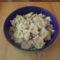 Tonhalas-gombás tésztasaláta