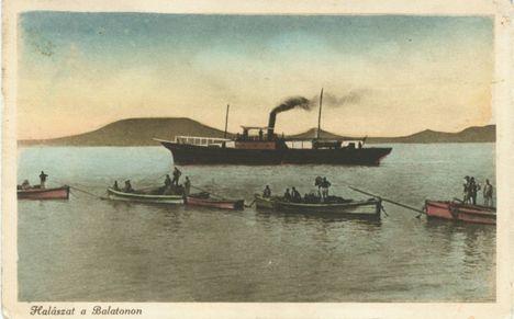 Halászat a Balatonon