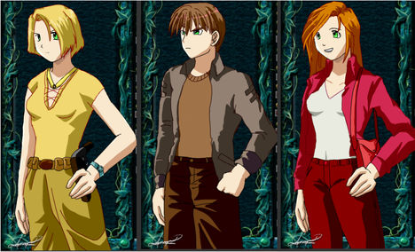 Lily, Márk, Arilyn