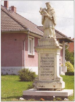 Nepomuki Szent János szobra 1794.