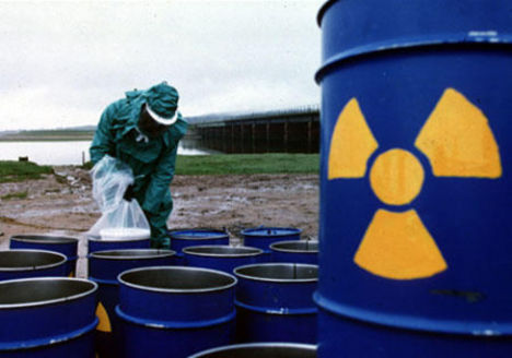 nukleáris hulladék